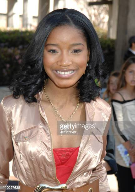 Keke Palmer during Nickelodeon's 20th Annual Kids' Choice Awards Orange Carpet at Pauley Pavilion UCLA in Westwood California United States