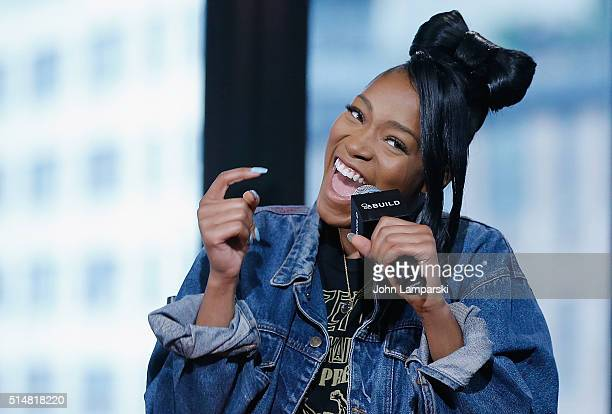 Keke Palmer of 'Enemiez' attends AOL Build Speakers Series at AOL Studios In New York on March 11 2016 in New York City
