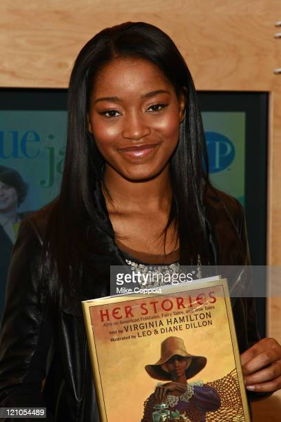 Keke Palmer visits the Scholastic Store on February 9 2009 in New York City
