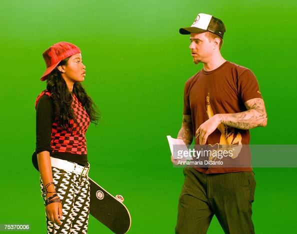 Keke Palmer with director James...
