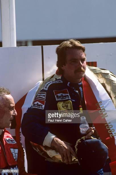 Keke Rosberg WilliamsFord FW08 Grand Prix of Switzerland DijonPrenois 29 August 1982
