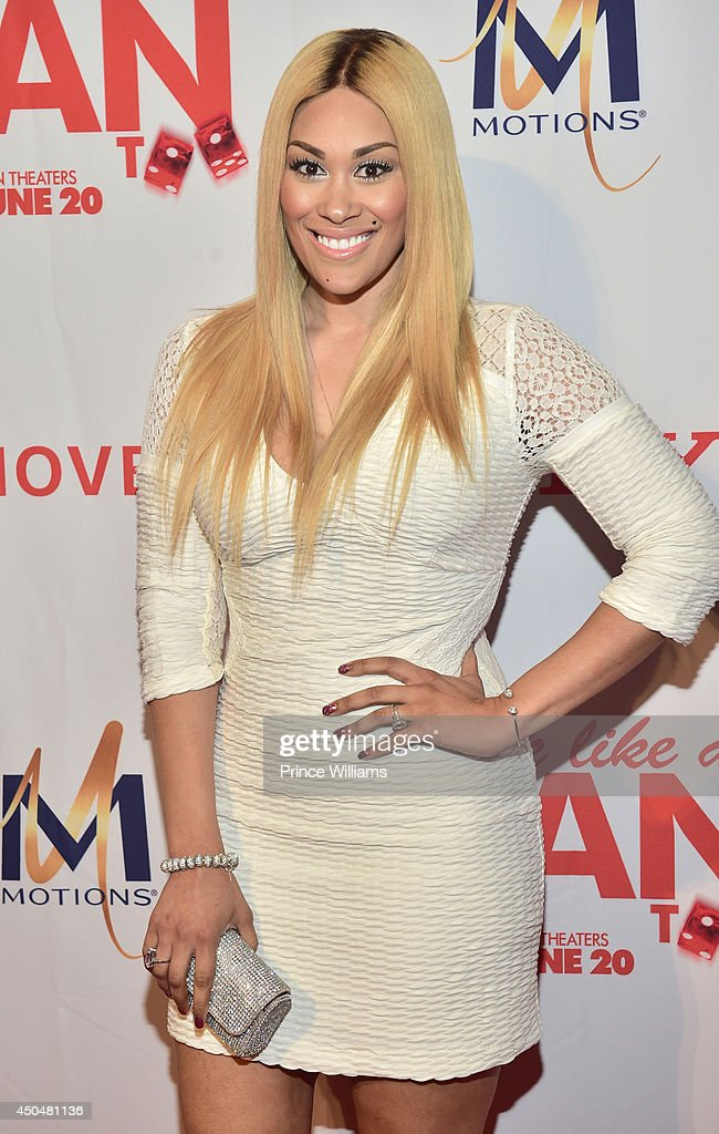Keke Wyatt attends the 'Think Like A Man Too' premiere at Regal Cinemas Atlantic Station Stadium 16 on June 11, 2014 in Atlanta, Georgia.