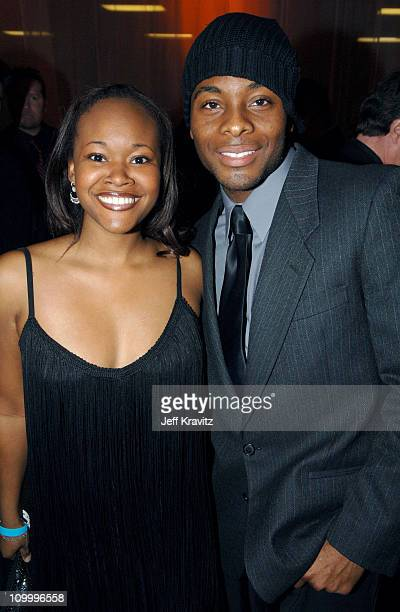 Kel Mitchell and guest during 32nd Annual People's Choice Awards Bombay Sapphire After Party at Shrine Auditorium in Los Angeles California United...