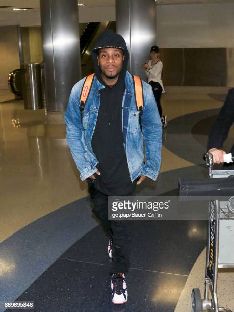 Kel Mitchell is seen at Los Angeles International Airport on May 28 2017 in Los Angeles California