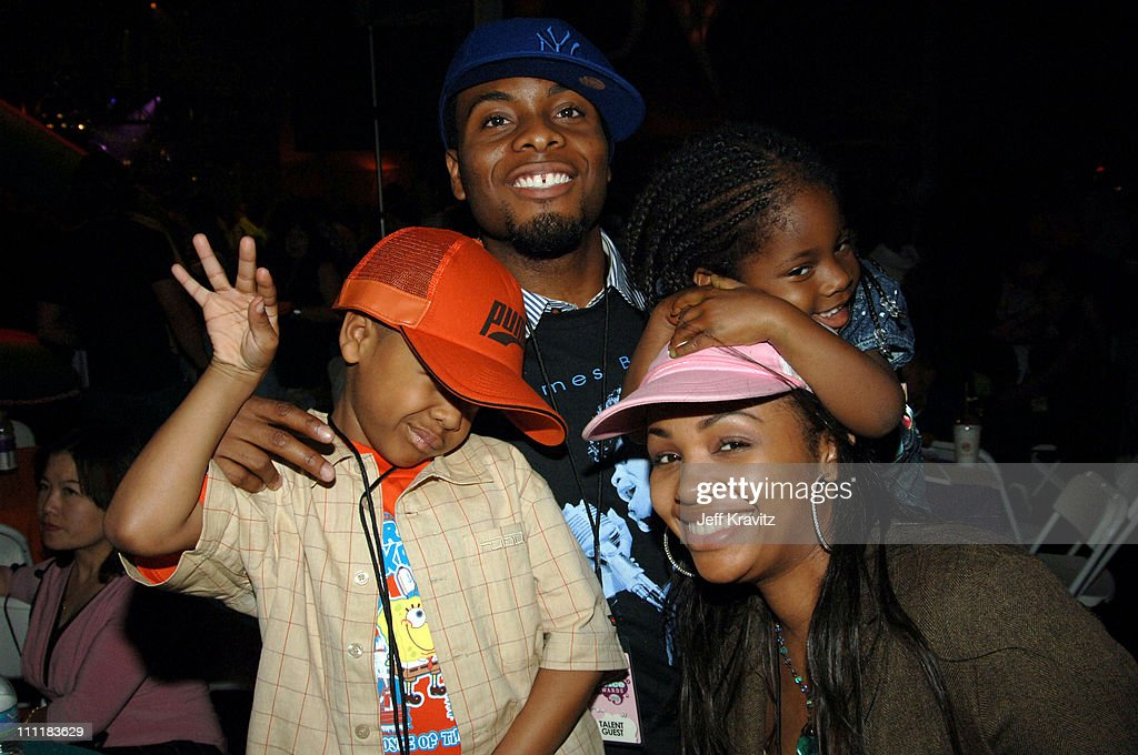 Kel Mitchell, Tyisha Hampton Mitchell and kids during Kids Choice Post Party-Inside at UCLA in Los