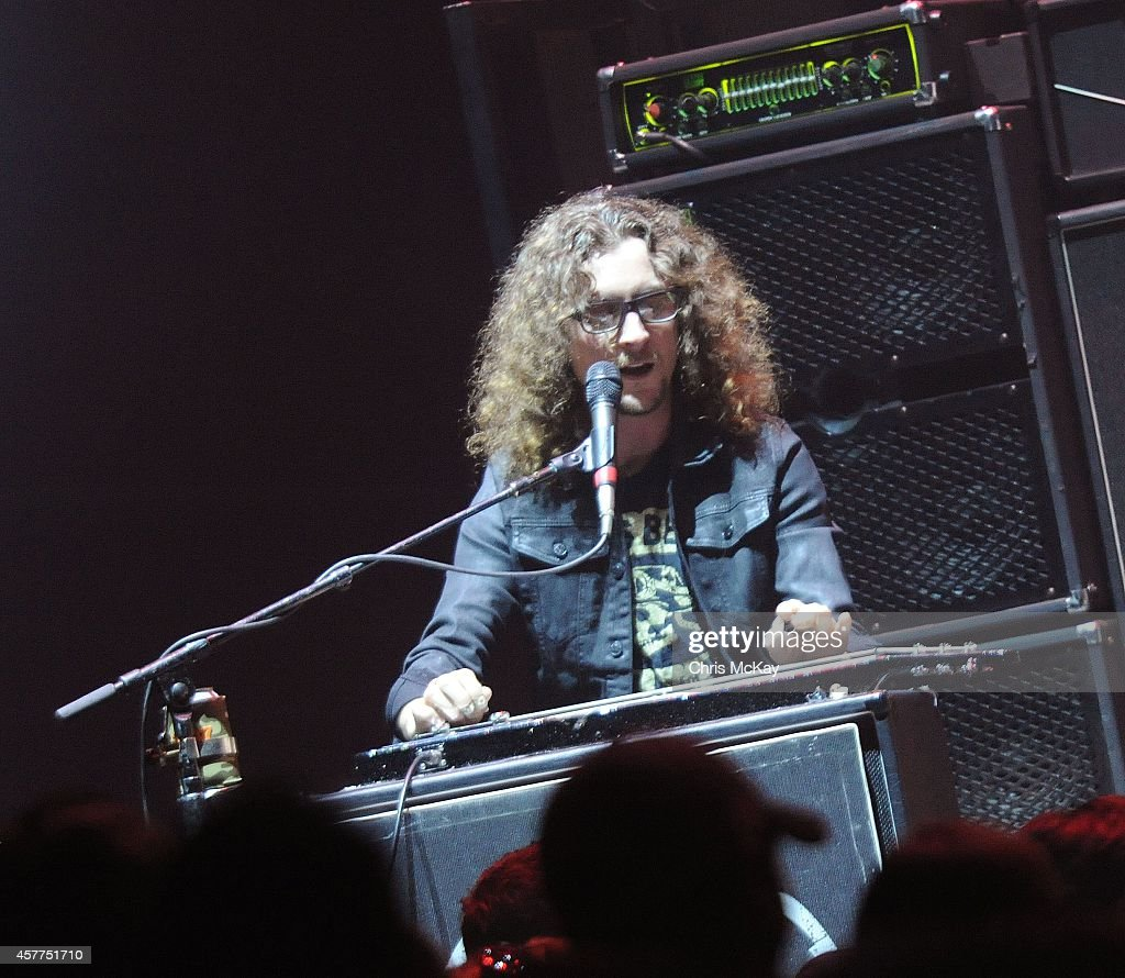 Kelby Ray of The Cadillac Three performs at Arena at Gwinnett Center on October 23, 2014 in Duluth, Georgia.