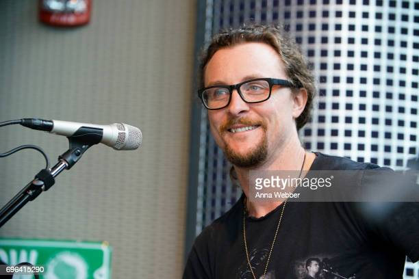 Kelby Ray of The Cadillac Three Visits SiriusXM Studios In Nashville at SiriusXM Studios on June 15 2017 in Nashville Tennessee