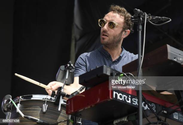 Kelcey Ayer of Local Natives performs during the 2017 Hangout Music Festival on May 20 2017 in Gulf Shores Alabama