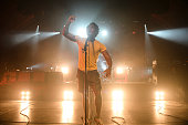 Kele Okereke of Bloc Party performs on stage at Tonhalle on November 15 2012 in Munich Germany