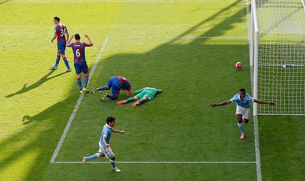Crystal Palace v Man City : News Photo