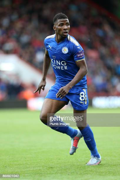 Kelechi Iheanacho of Leicester City in action during the Premier League match between Bournemouth and Leicester City at Vitality Stadium on September...