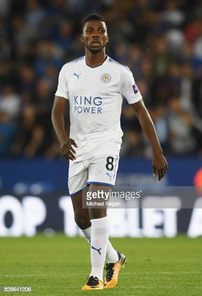 Kelechi Iheanacho of Leicester in action during the preseason friendly match between Leicester City and Borussia Moenchengladbach at The King Power...