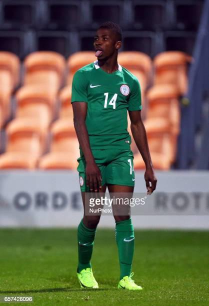 Kelechi Iheanacho of Nigeria during International Friendly match between Nigeria against Senegal at The Hive Barnet FC on 23rd March 2017