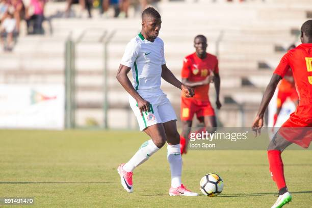 Kelechi Iheanacho of Nigeria during the soccer friendly match between Nigeria and Togo on June 1 2017 in St LeulaForet France