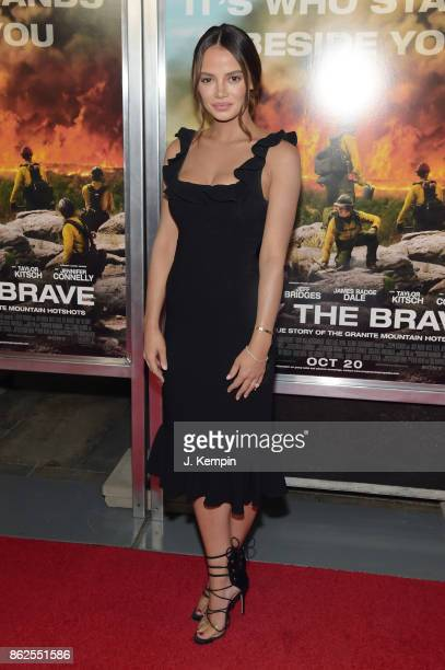 Keleigh Sperry attends 'Only The Brave' screening at iPic Theater on October 17 2017 in New York City