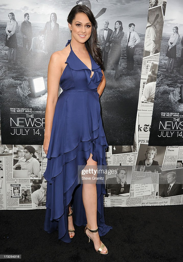 Kelen Coleman arrives at the Los Angeles Season 2 Premiere Of HBO's Series 'The Newsroom' at Paramount Studios on July 10, 2013 in Hollywood, California.