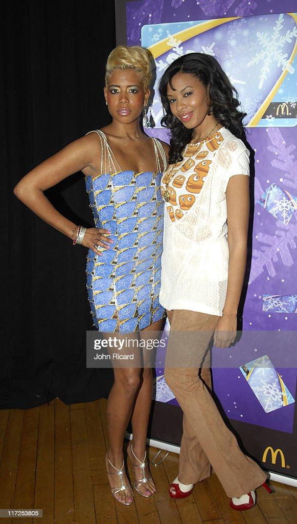 Kelis and Vanessa Simmons during The Ronald McDonald House Presents Jay McCaroll Fashion Show Featuring Kelis December 12 2006 at The Puck...