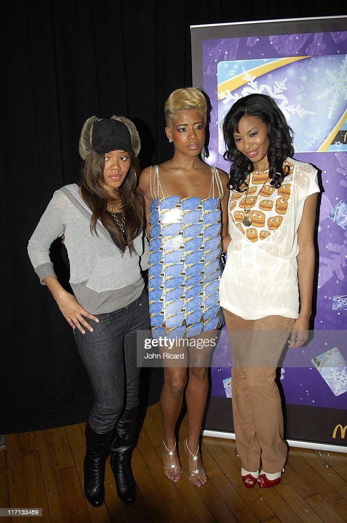 Kelis Angela Simmons and Vanessa Simmons during The Ronald McDonald House Presents Jay McCaroll Fashion Show Featuring Kelis December 12 2006 at The...