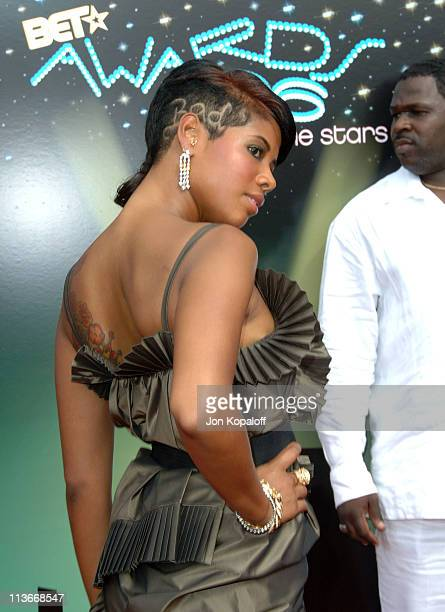 Kelis during 2006 BET Awards Arrivals at The Shrine in Los Angeles California United States