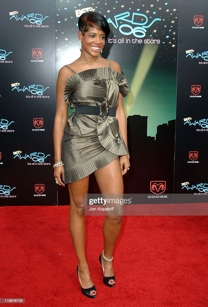Kelis during 2006 BET Awards - Arrivals at The Shrine in Los Angeles, California, United States.