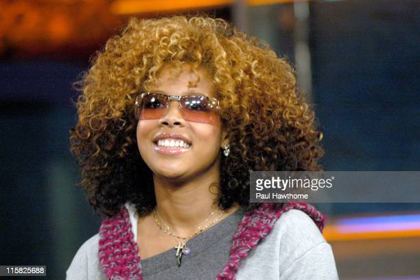 Kelis during Kelis and IMA ROBOT Stop by Live on 'IMX' Show at FUSE Studios at FUSE Studios in New York City New York United States