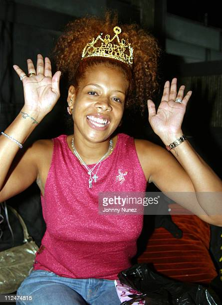 Kelis during Kelis Birthday Party at Que in New York City New York United States
