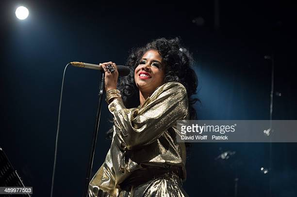 Kelis performs at La Gaite Lyrique on May 12 2014 in Paris France