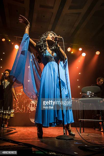 Kelis performs on stage at the Dome during the Great Escape Festival on May 10 2014 in Brighton United Kingdom