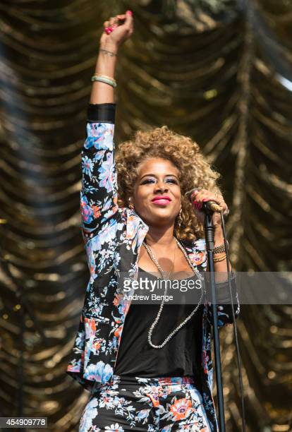 Kelis performs on stage for Festival No6 on September 7 2014 in Portmeirion United Kingdom