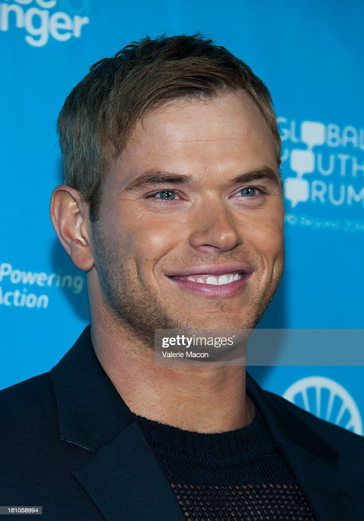 <a gi-track='captionPersonalityLinkClicked' href=/galleries/search?phrase=Kellan+Lutz&family=editorial&specificpeople=683287 ng-click='$event.stopPropagation()'>Kellan Lutz</a> arrives at the mPowering ActionPre-GRAMMY Launch Event at The Conga Room at L.A. Live on February 8, 2013 in Los Angeles, California.