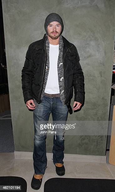 Kellan Lutz attends Columbia At The Village At The Lift on January 24 2015 in Park City Utah