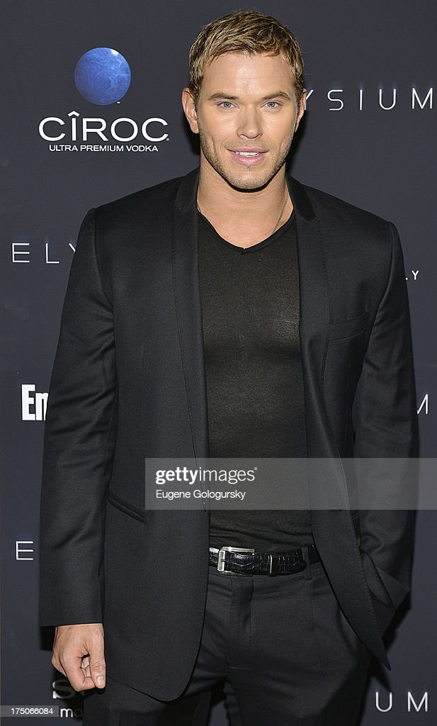 <a gi-track='captionPersonalityLinkClicked' href=/galleries/search?phrase=Kellan+Lutz&family=editorial&specificpeople=683287 ng-click='$event.stopPropagation()'>Kellan Lutz</a> attends 'Elysium' New York Screening at Landmark's Sunshine Cinema on July 30, 2013 in New York City.