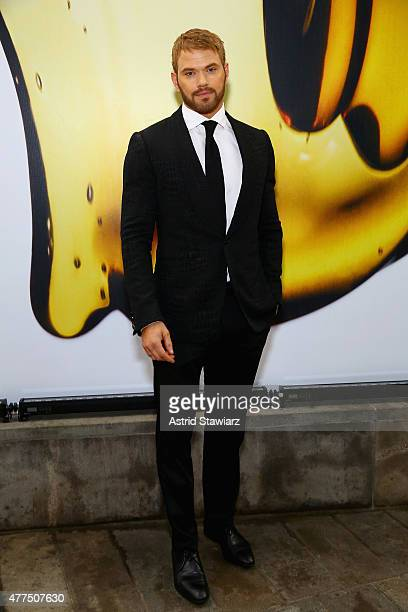 Kellan Lutz attends the 2015 Fragrance Foundation Awards at Alice Tully Hall at Lincoln Center on June 17 2015 in New York City