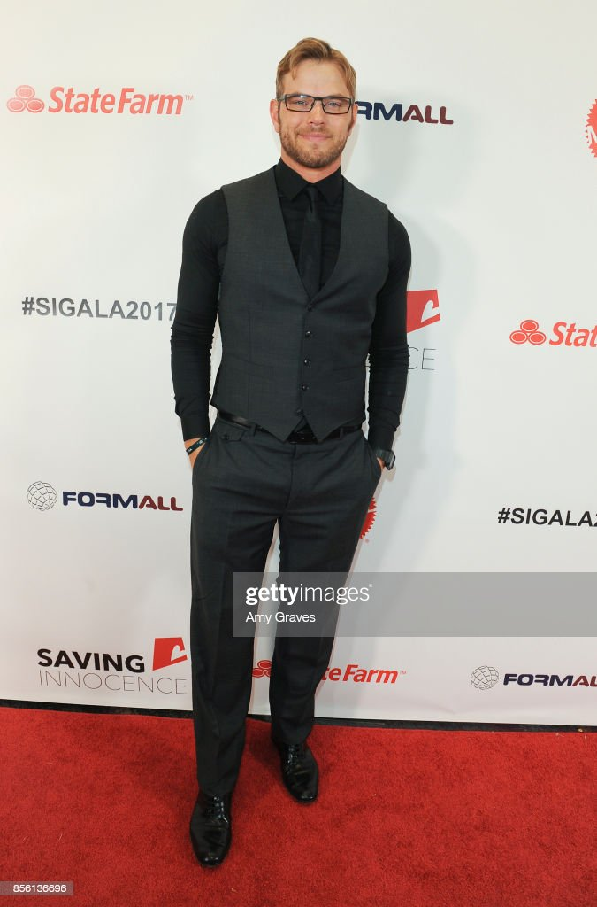 Kellan Lutz attends The 6th Annual Saving Innocence Gala at the Loews Hollywood Hotel on September 30, 2017 in Hollywood, California.