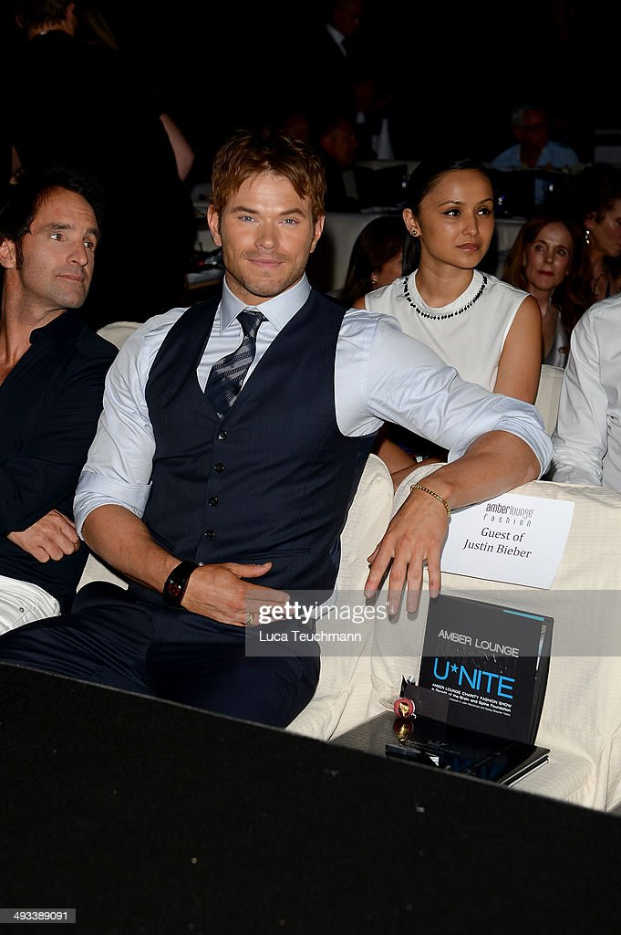 <a gi-track='captionPersonalityLinkClicked' href=/galleries/search?phrase=Kellan+Lutz&family=editorial&specificpeople=683287 ng-click='$event.stopPropagation()'>Kellan Lutz</a> attends the Amber Lounge 2014 Gala at Le Meridien Beach Plaza Hotel on May 23, 2014 in Monte-Carlo, Monaco.