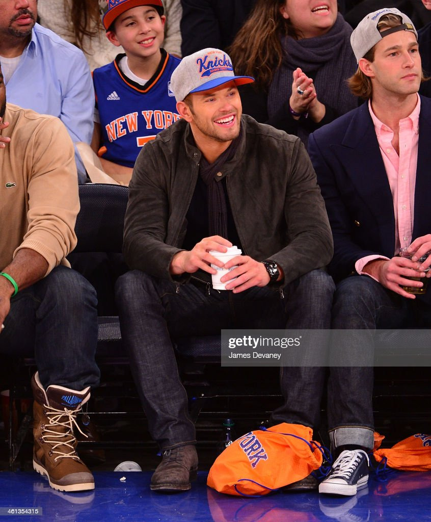 <a gi-track='captionPersonalityLinkClicked' href=/galleries/search?phrase=Kellan+Lutz&family=editorial&specificpeople=683287 ng-click='$event.stopPropagation()'>Kellan Lutz</a> attends the Detroit Pistons vs New York Knicks game at Madison Square Garden on January 7, 2014 in New York City.