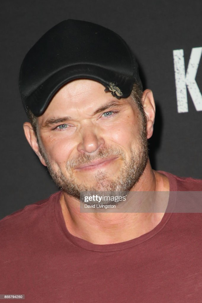 Kellan Lutz attends the Knott's Scary Farm and Instagram's Celebrity Night at Knott's Berry Farm on September 29, 2017 in Buena Park, California.