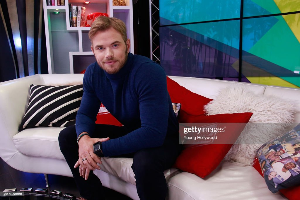 Kellan Lutz visits the Young Hollywood Studio on October 3, 2017 in Los Angeles, California.