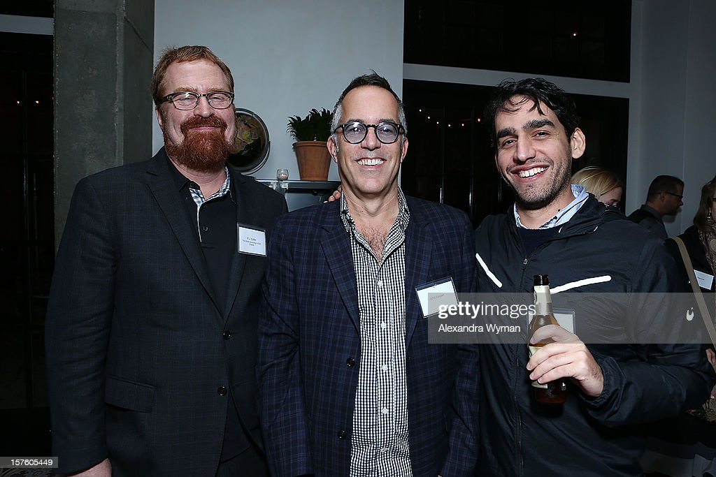 RJ keller, John Copper and Zal Batmanglij at The Sundance Film Festival Filmmaker Orientation reception held at The Palihouse Holloway on December 4, 2012 in West Hollywood, California.