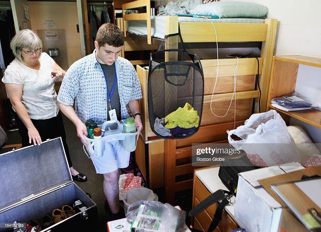Perfect Kelley Kemp Of North Adams Helped Son, Luke Sisto, Unpack In His Dorm Room Part 8