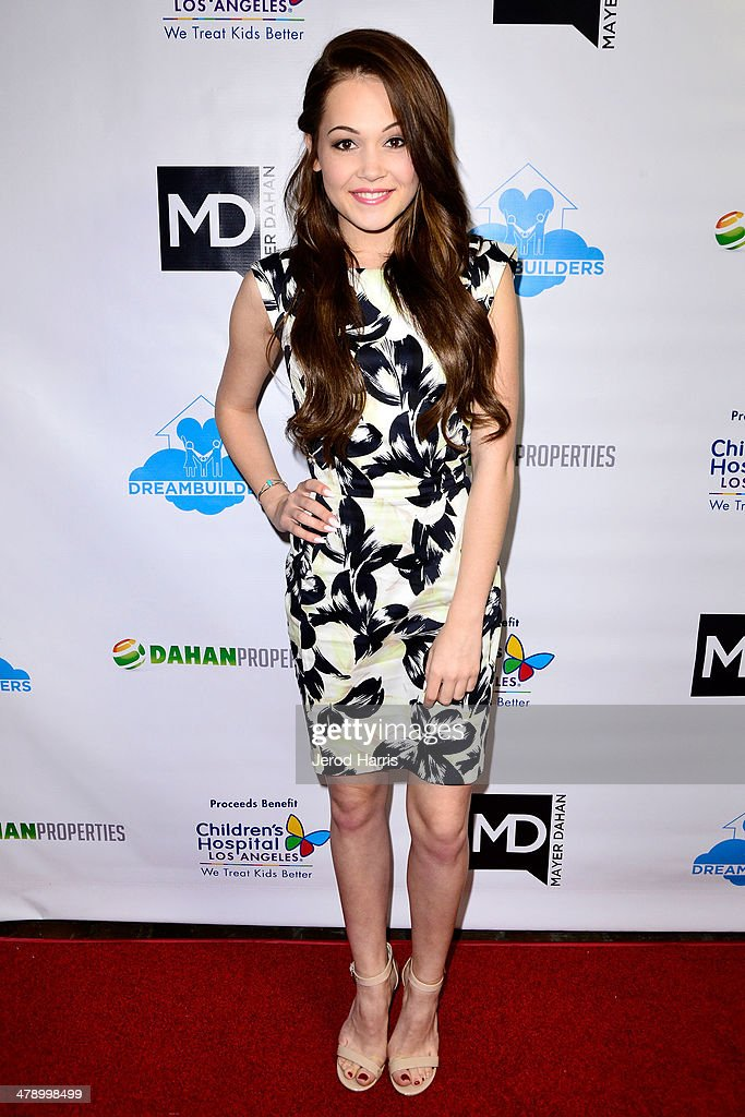 Kelli Berglund arrives at the Dream Builders Project's 'A Brighter Future For Children' benefit at H.O.M.E. on March 15, 2014 in Beverly Hills, California.