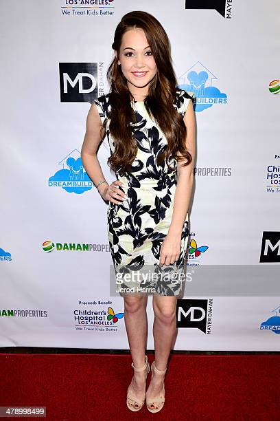 Kelli Berglund arrives at the Dream Builders Project's 'A Brighter Future For Children' benefit at HOME on March 15 2014 in Beverly Hills California