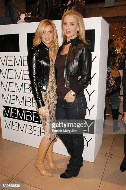 Kelli Delaney and Laurie Dhue attend Exclusive relaunch of MEMBERS ONLY hosted by designer KELLI DELANEY and hairdo CLIPIN EXTENSIONS by KEN PAVES...