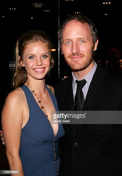 Kelli Garner and Mike Mills director during 'Thumbsucker' Los Angeles Premiere After Party in Los Angeles California United States