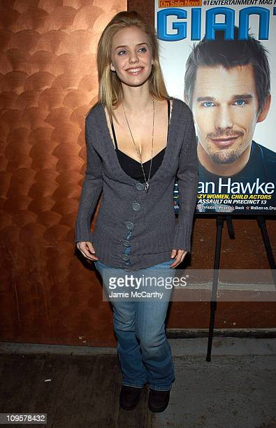 Kelli Garner during 2005 Park City 'Strangers with Candy' Party at Monkey Bar in Park City Utah United States