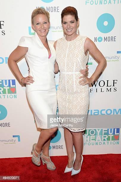Kelli Giddish and Debra Messing attend the Joyful Heart Foundation Presents The Joyful Revolution Gala 10th Anniversary Celebration at Cipriani 42nd...