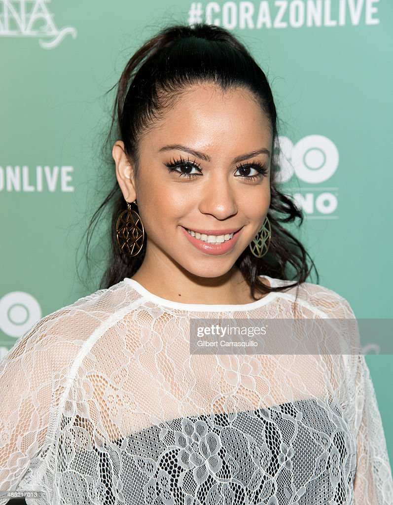 Kelli Jazz attends the 'Santana De Corazon' screening at The Hudson Theatre on April 16, 2014 in New York City.