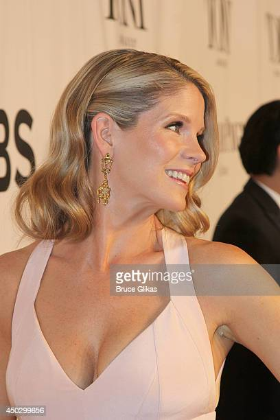 Kelli O'Hara attends the American Theatre Wing's 68th Annual Tony Awards at Radio City Music Hall on June 8 2014 in New York City