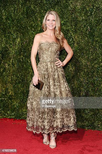 Kelli O'Hara attends the American Theatre Wing's 69th Annual Tony Awards at Radio City Music Hall on June 7 2015 in New York City