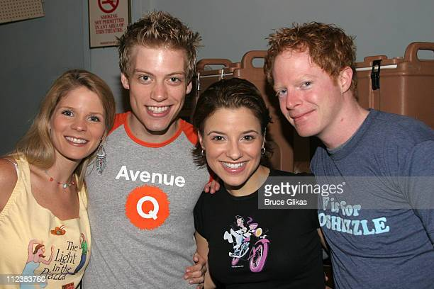 Kelli O'Hara Barrett Foa Jen Gambatese and Jesse Tyler Ferguson **Exclusive Coverage**